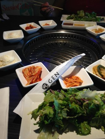 Gen Korean BBQ: side dishes