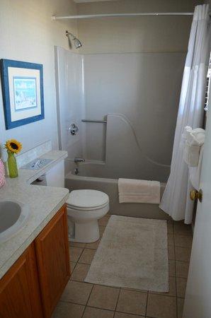 Sandbars on Cape Cod Bay : Bathroom