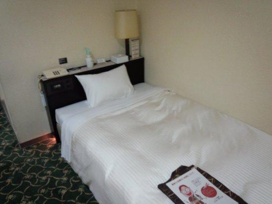Premier Hotel -CABIN- Sapporo: ベッドはシングルです