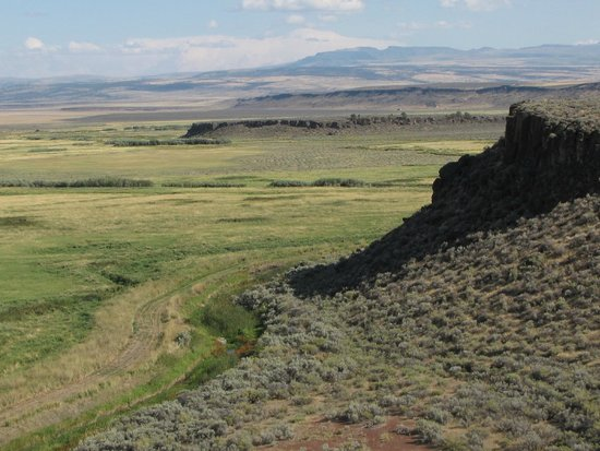 Buena Vista overlook in the Malheur wildlife Refuge