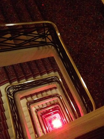 escalier picture of hotel barriere le royal deauville deauville tripadvisor. Black Bedroom Furniture Sets. Home Design Ideas