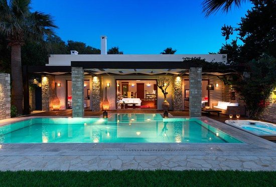 Porto Zante Villas & Spa: Royal Spa Villa with private beach area