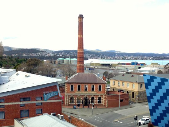 The Old Woolstore Apartment Hotel: Room with a view