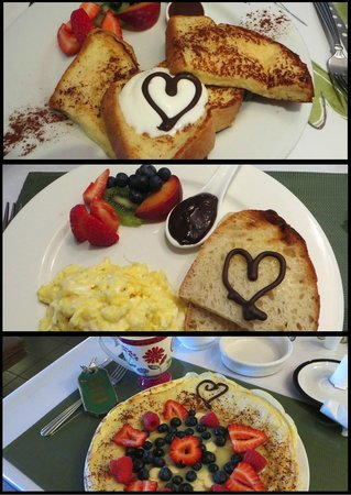 Auberge La Chocolatiere: delicious breakfasts!