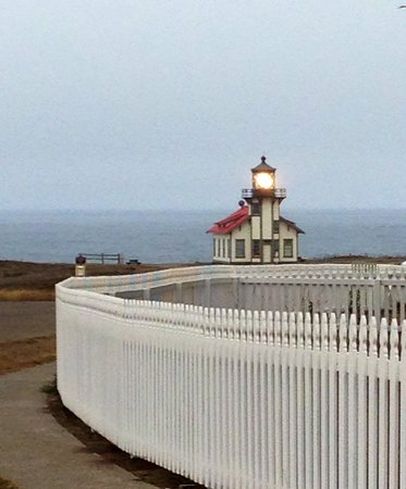 Point Cabrillo Light Station State Historic Park: easy walk up.
