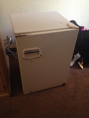 Orlando Continental Plaza Hotel: Essa é a geladeira do quarto, vc me diga o que acha