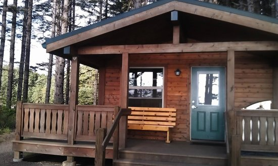 Cape Lookout State Park: Tillamook cabin