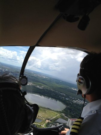 Air Florida Helicopter Inc.: Chris shows us Orlando. How Cool!