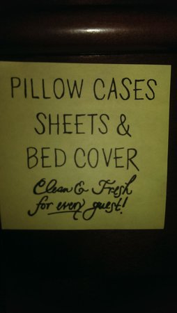 "Hampton Inn Frederick: Really?  ""Clean sheets"" is the best you can do?"
