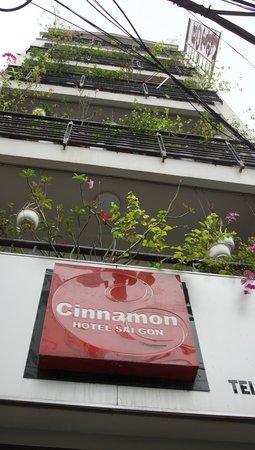 Cinnamon Hotel Saigon: ホテル外観