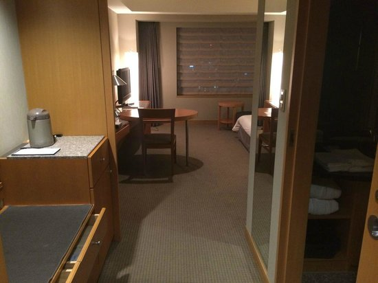 Cerulean Tower Tokyu Hotel: Twin room view from the entrance