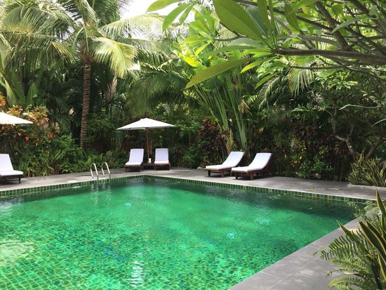 Cham Villas: Lovely swimming pool