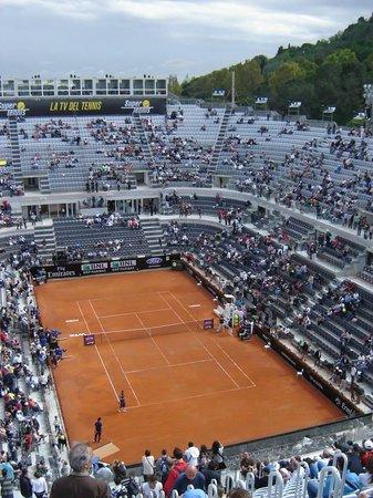Foro Italico: Internazionali d'Italia (cancha del estadio central)
