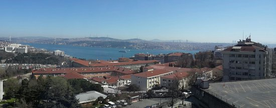 Gezi Hotel Bosphorus : View from our room on 10th floor