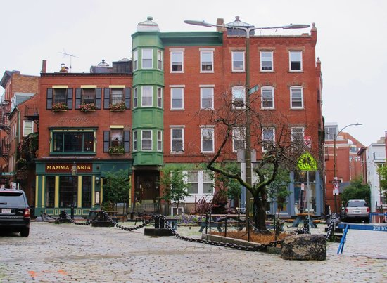 Mamma Maria: North End- diagonal from Paul Revere's house on Freedom Trail