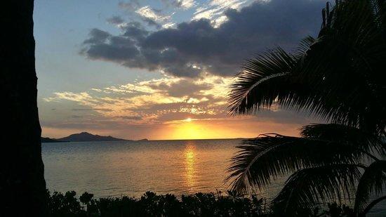 Nukubati Private Island: Sunset at Nukubati