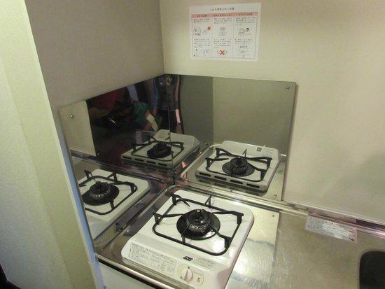 J residence Shinjuku: Kompor/kitchen