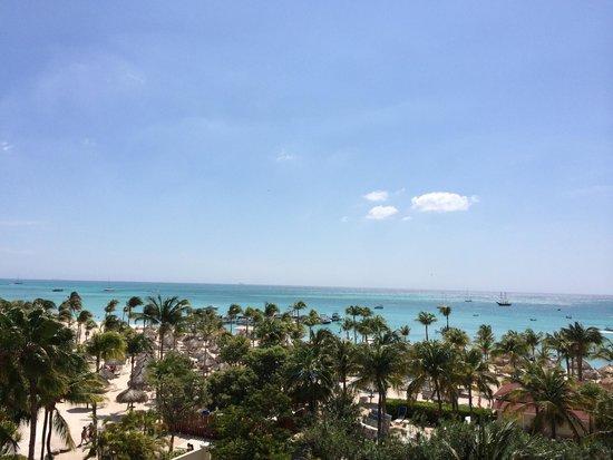 Marriott's Aruba Ocean Club: View from our room 5591 - 5th floor ocean front villa (1 bedroom). Gorgeous!!