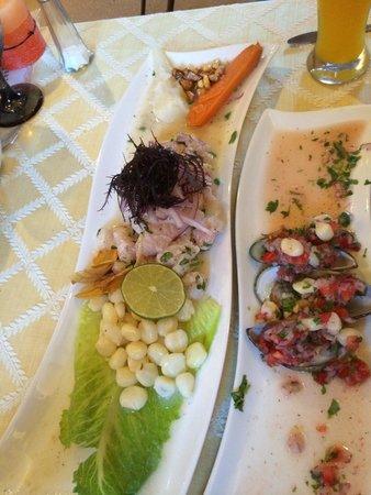 Mixtura's Peruvian Restaurant: Ceviche