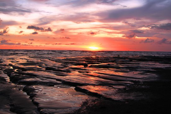 Corcovado National Park: コルコバードでの夕日