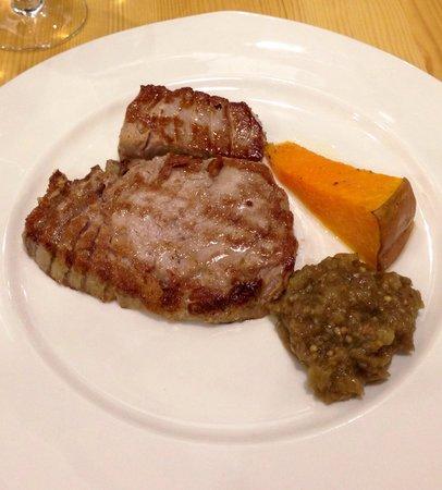 Restaurante Ramon Pipi : Lomo de atún a la plancha INMEJORABLE