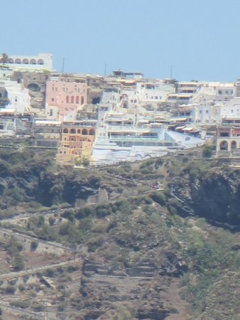 Spiridakos Sailing Cruises: View of Fira