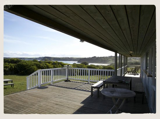 Clifftop Boutique Accommodation : View from the deck.