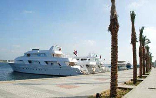 Rosetta, Ägypten: Yacht