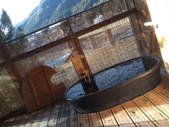 Bosenkan: Open Air Bath in Room