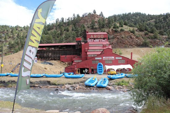 Columbine Inn: Argo mine rafting co