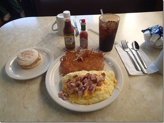 Skipper's: Ham & Cheese Omelet