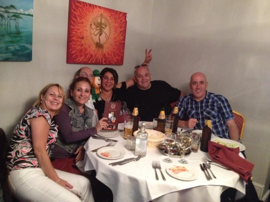 Spice Club: Great mates enjoying an outstanding meal at Spice World, Solihull