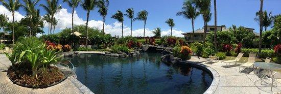 Palm Villas at Mauna Lani: Palm Villas - Empty, Perfect Pool