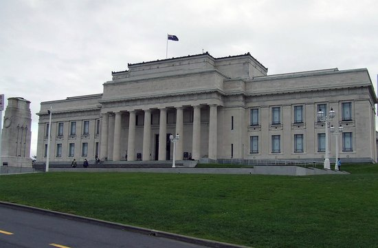 Auckland Museum: North Entry