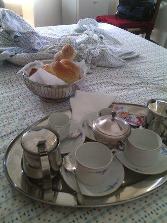 Il Bastione Duca D`aosta: colazione