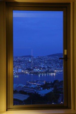 Luke Plaza Hotel : 部屋からの夜景