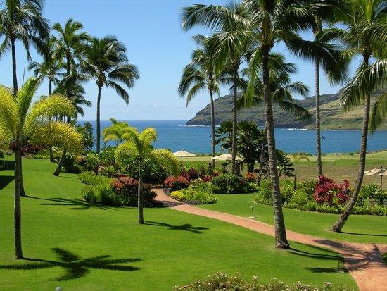 Marriott's Kauai Lagoons - Kalanipu'u: View of the harbor