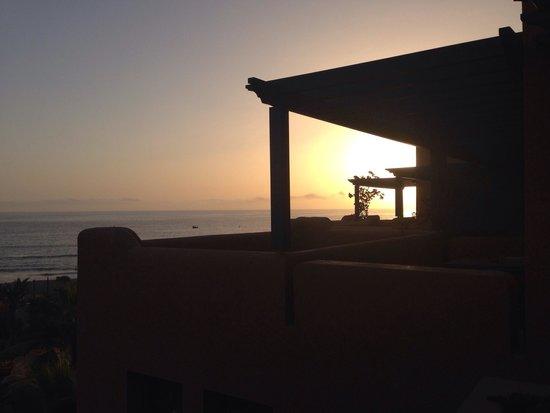 Paradis Plage Surf Yoga & Spa Resort : Sunset at paradis plage