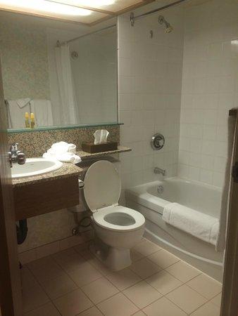 Banff International Hotel: Bathroom