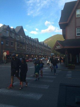 "Banff International Hotel: ""The strip"" Banff Avenue"