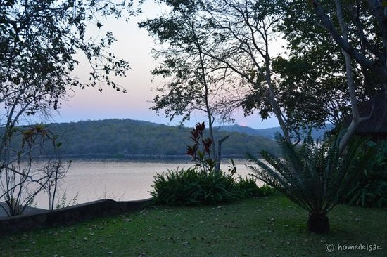 Masumu River Lodge : View from the garden