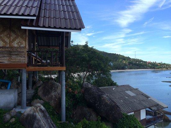 Ling Sabai Bungalows: Bungalow supérieur vue sur la mer