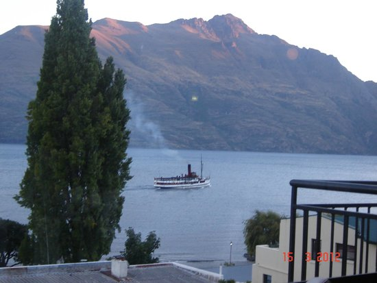 Hotel St Moritz Queenstown - MGallery Collection: a view from our room