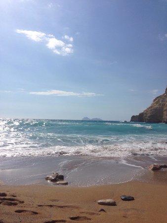 Red Sand Beach (Kokkini Ammos): Einfach unglaublich schön!