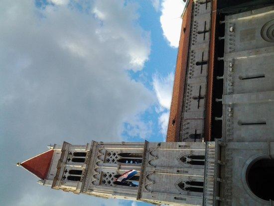 Weltkulturerbestätte Trogir: главная площадь