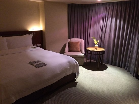 Regent Taipei : Jr.スイート 広々としたベッドルーム