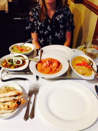Miah's - Garden of Gulab : Food was amazing! Flavour was great and no oil in the curries at all