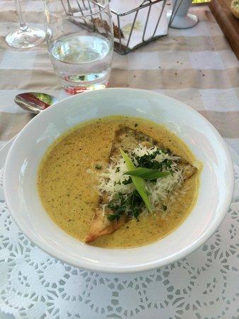 Marc's Mediterrean Cuisine & Garden: Soup du Jour Vegetable Curry