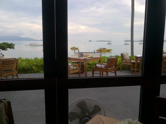 """Hansar Samui Resort : """"....breakfast view every AM @ The Hansar...hmmmmm"""