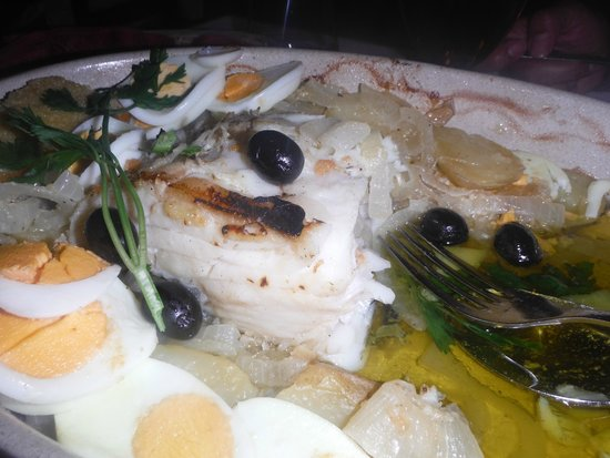 Restaurante O Infante: gran calidad bacalao